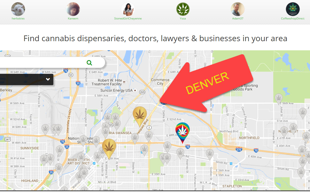 Denver Dispensaries Are Mile High And Growing