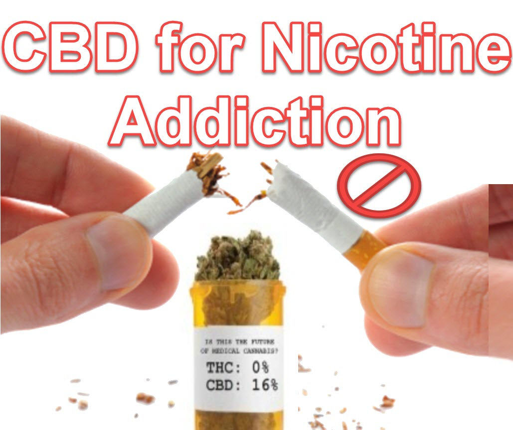 CBD For Nicotine Addiction