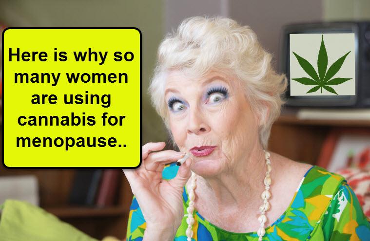 How does Marijuana work for Menopause?