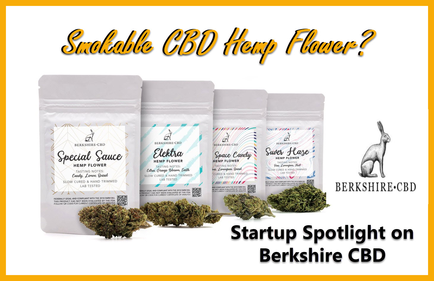 Smokable CBD Hemp Flower With Berkshire CBD