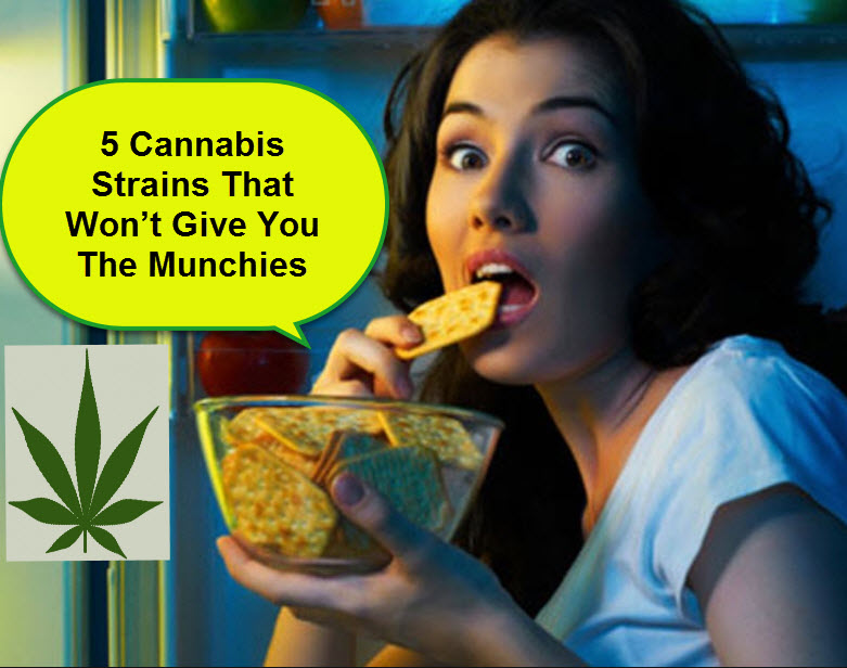 5 Cannabis Strains That Won't Give You The Munchies