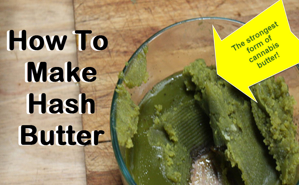 How To Make Hash Butter Or Kief Butter
