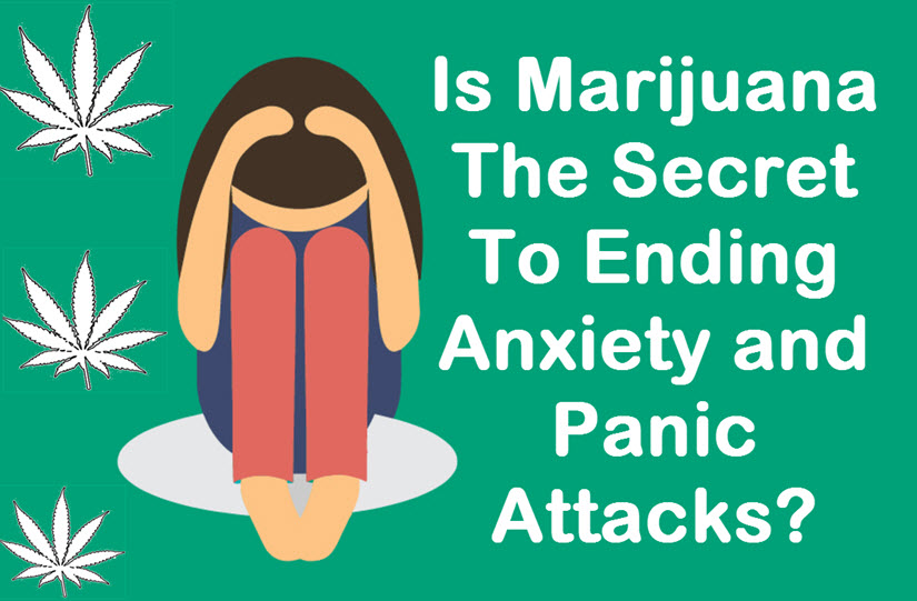 how to stop an anxiety attack from weed