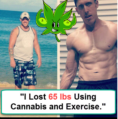 I Lost 65 Pounds Using Cannabis And Exercise