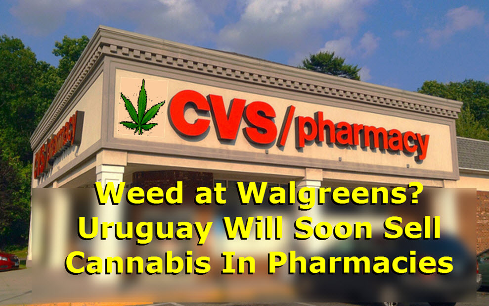 get your pot at cvs or walgreens  you bet in uruguay