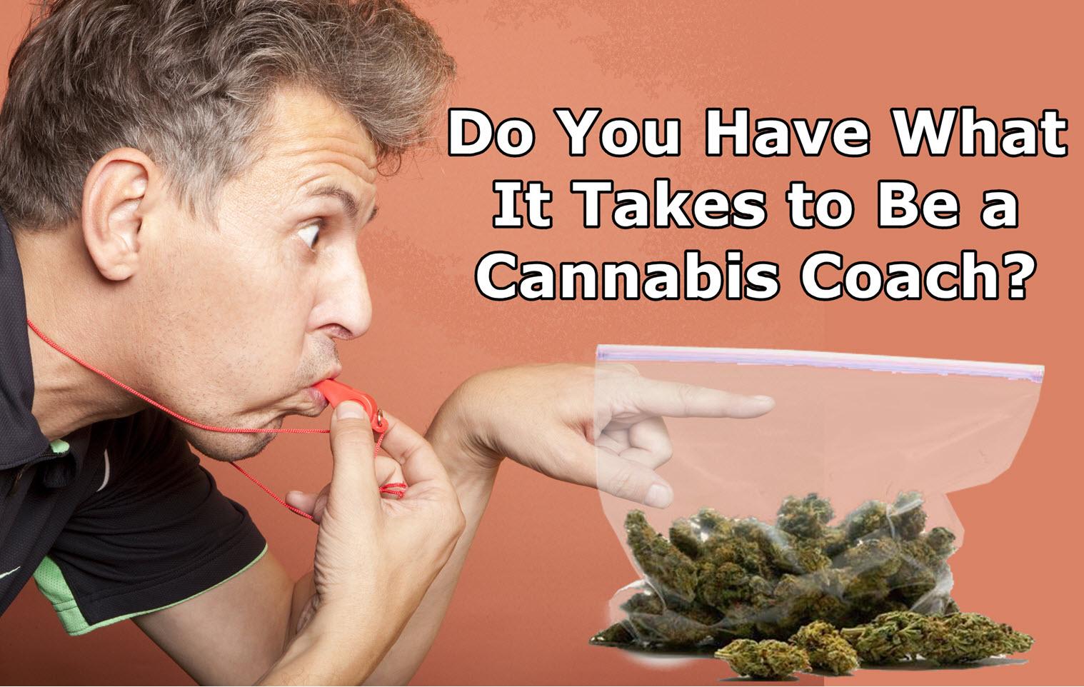 Cannabis Coaching - Teaching People to Smoke Weed (Yes, It