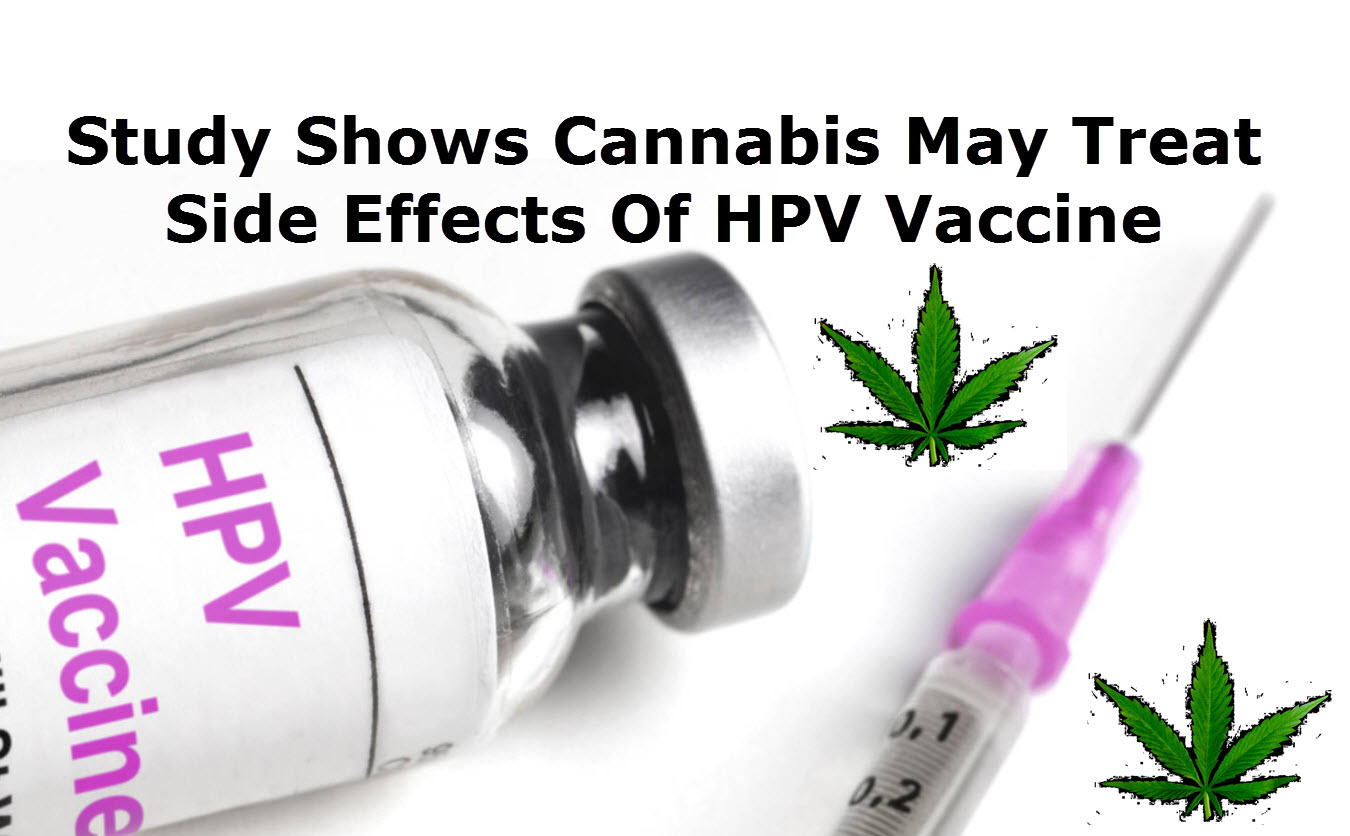 Study Shows Cannabis May Treat Side Effects Of HPV Vaccine