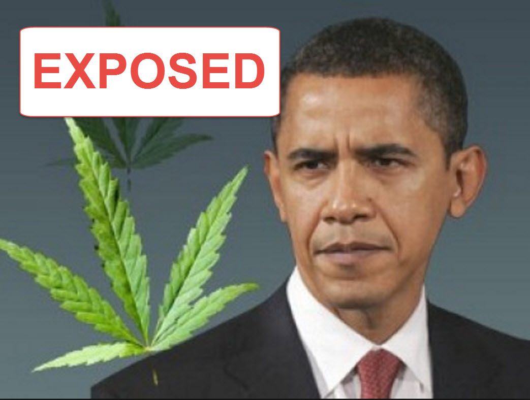Pictures Of Obama Smoking Weed
