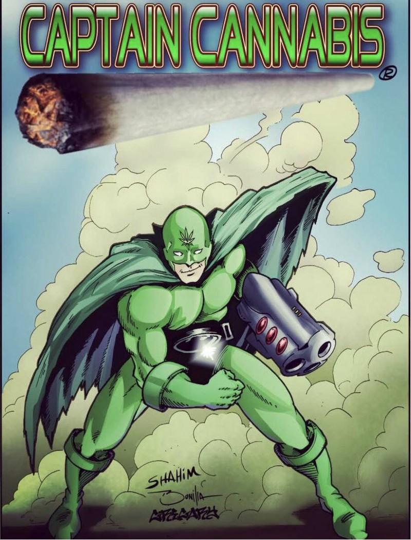 Weed Avengers - Captain Cannabis was the First Marijuana Superhero