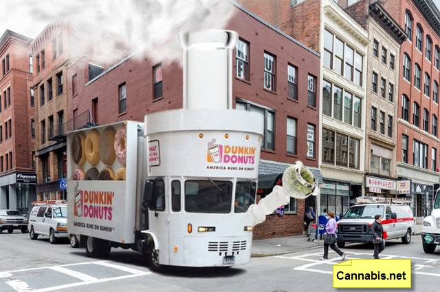 dunkin donuts and marijuana