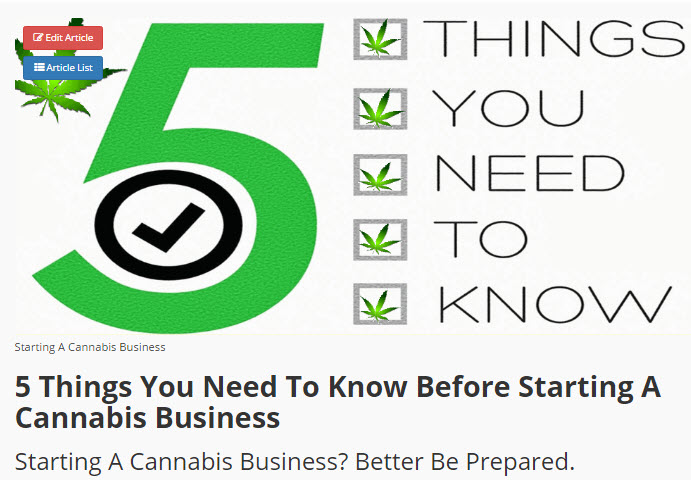 FIVE THINGS TO KNOW BEFORE YOU OPEN A BUSINESS
