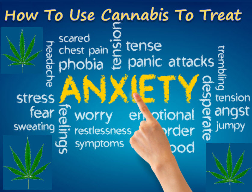HOW TO USE MARIJUANA FOR ANXIETY
