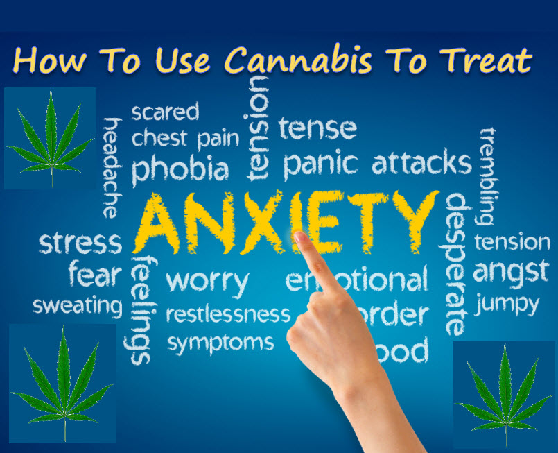 HOW TO TAKE CANNABIS FOR ANXIETY