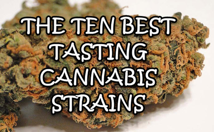 BEST TASTING CANNABIS STRAINS