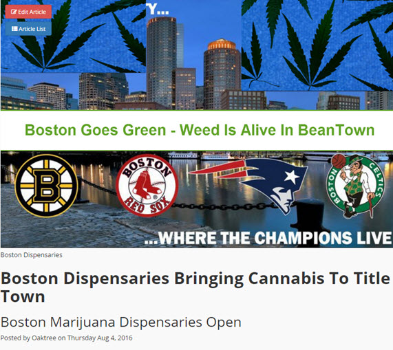 BOSTON DISPENSARIES