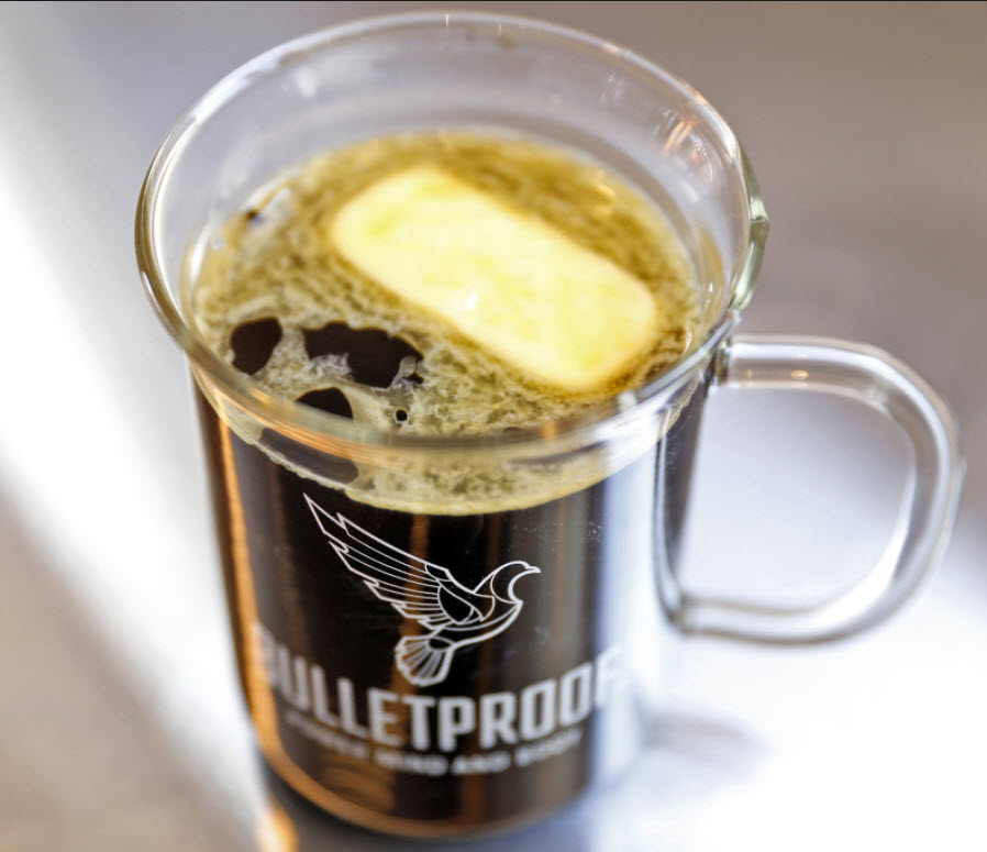 CANNABIS INFUSED BULLETPROOF COFFEE
