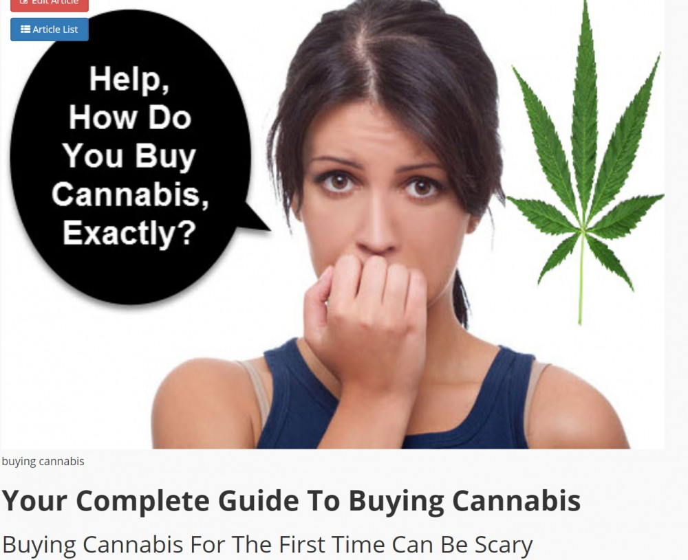 BUYING GUIDE FOR CANNABIS