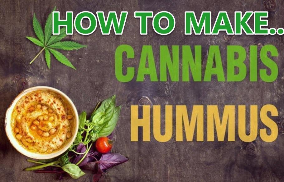 HOW TO MAKE CANNABIS HUMMUS