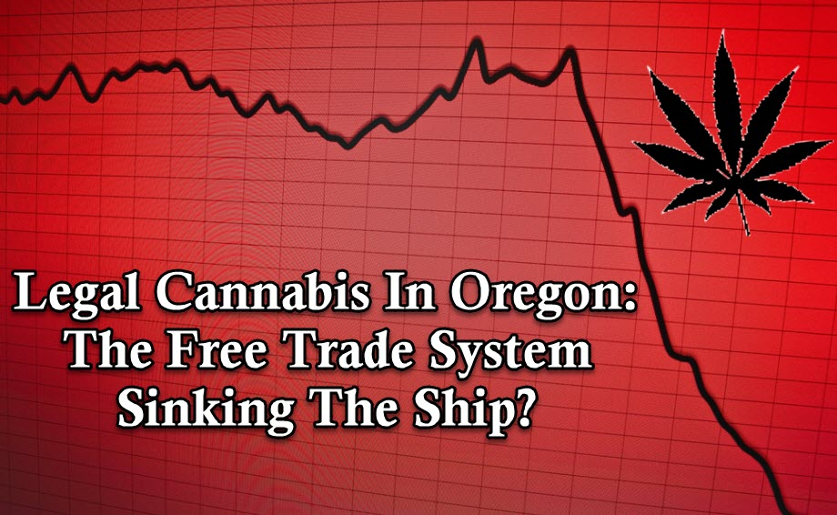 OREGON CANNABIS PRICES SINK