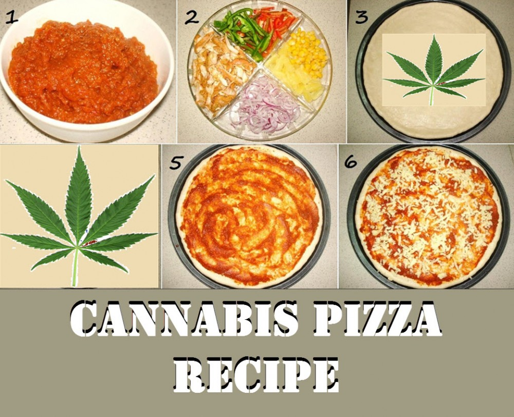 CANNABIS PIZZA RECIPE