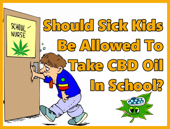 KIDS TAKING CBD IN SCHOOL