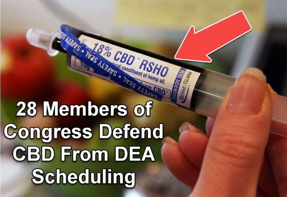 RESCHEDULE CBD OIL SAYS CONGRESS