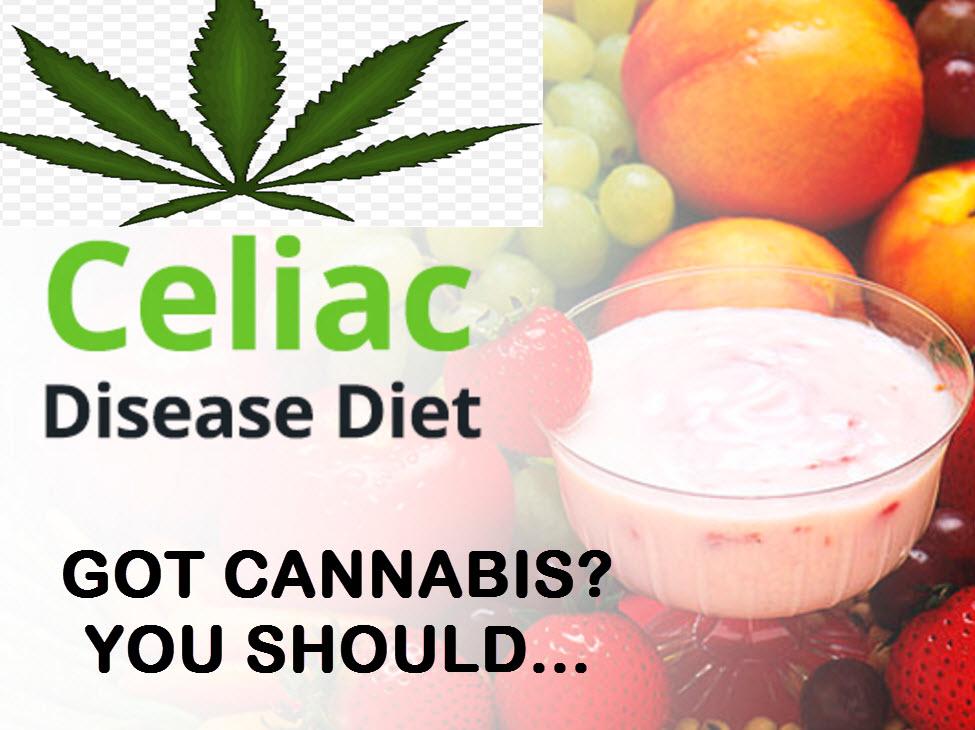 CANNABIS FOR CELIAC DISEASE
