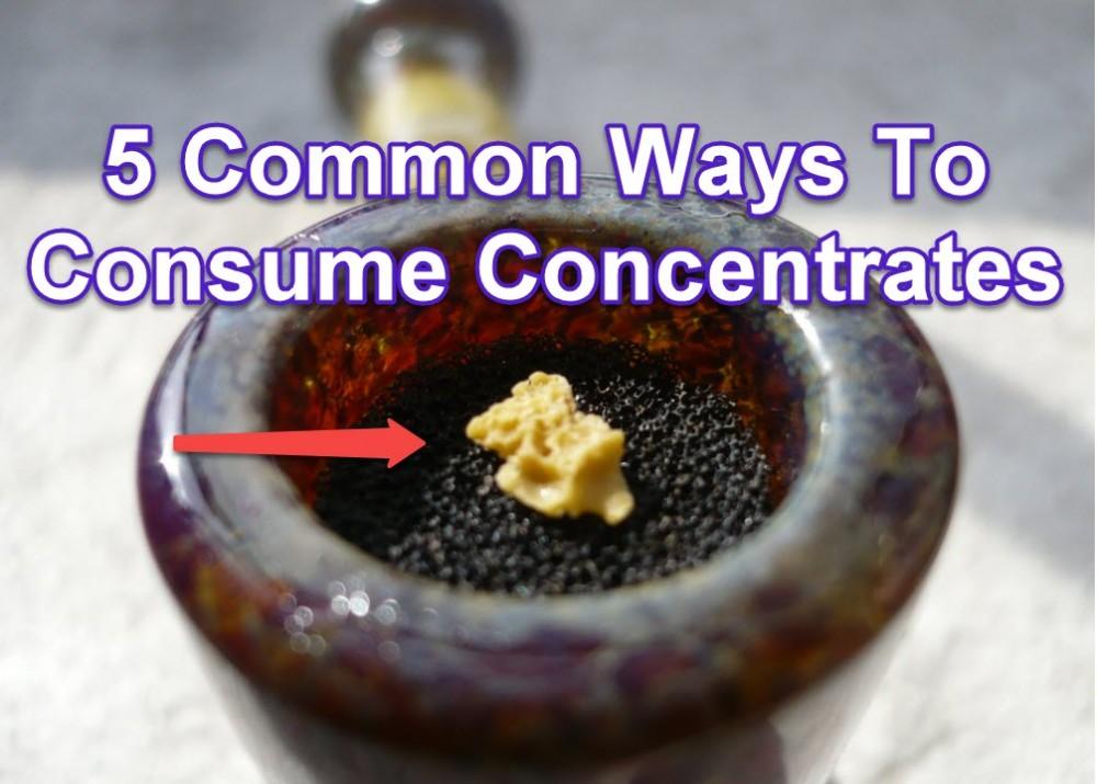 HOW DO YOU SMOKE CONCENTRATES