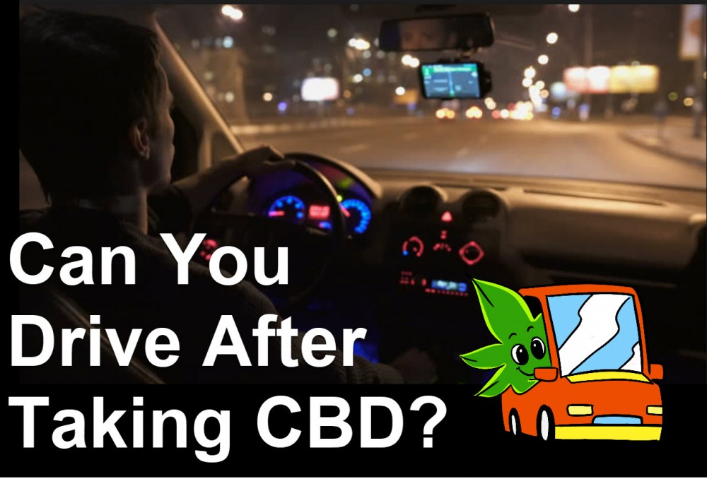 DRIVING ON CBD