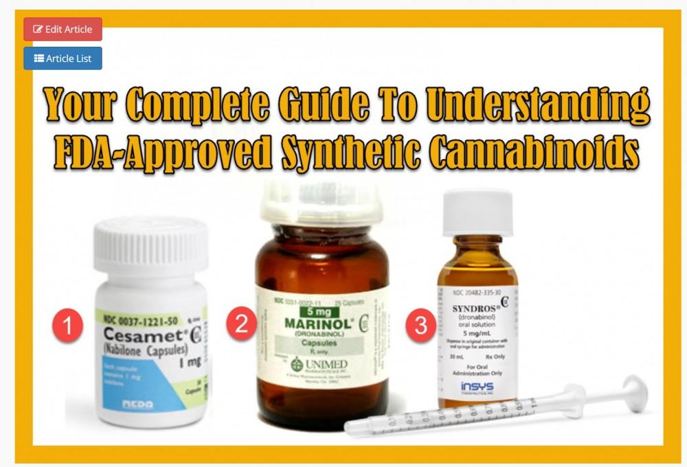 FDA ON CANNABINOIDS