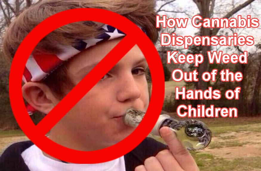 cannabis dispensaries block kids