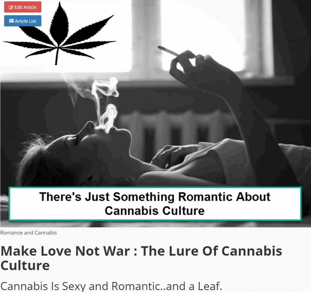 CANNABIS CULTURE AND SEX