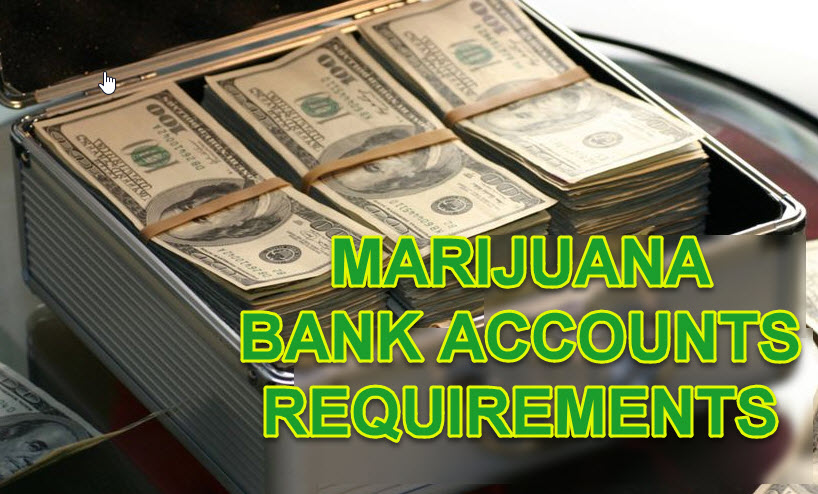how to get a marijuana bank account