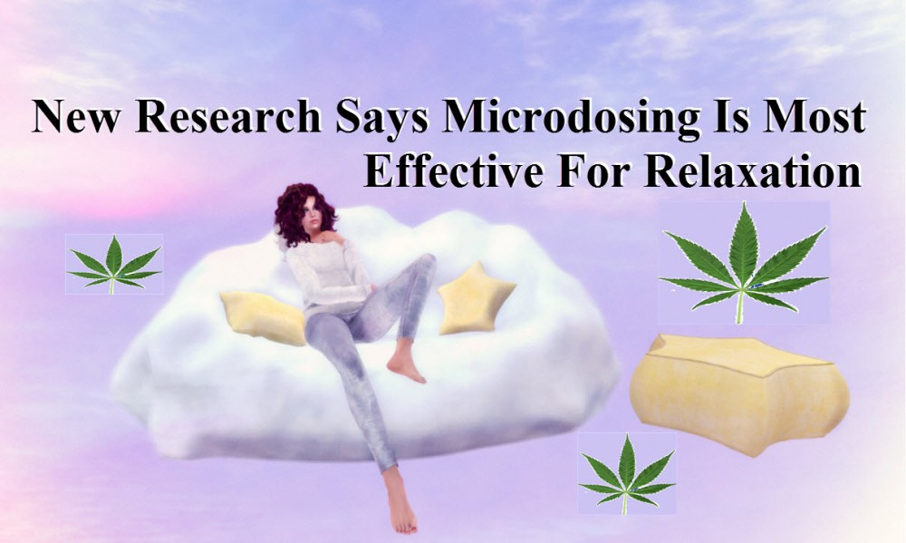 MICRODOSING FOR RELAXATION