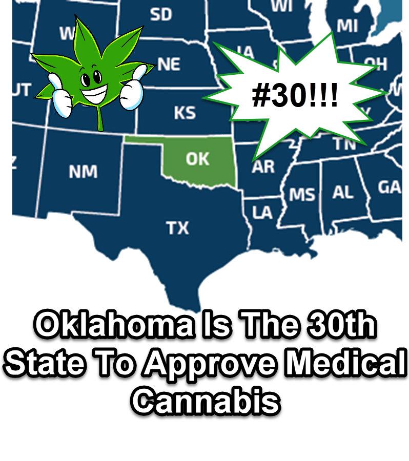 oklahoma on cannabis