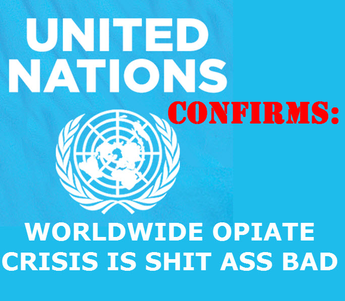 The UN on the opioid crisis