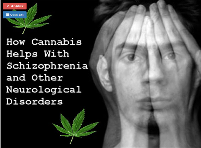 Cannabis Strains For Schizophrenia