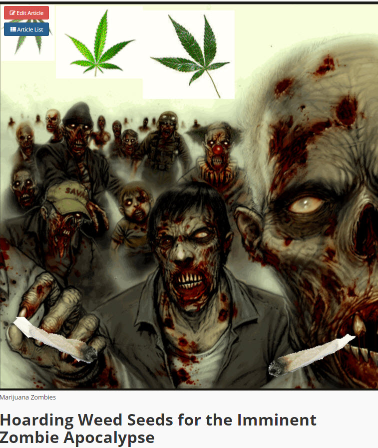 ZOMBIE CANNABIS SEEDS
