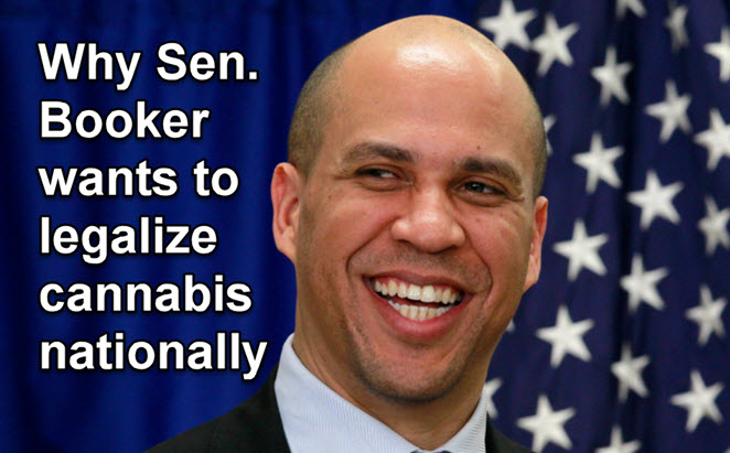 CORY BOOKER ON MARIJUANA