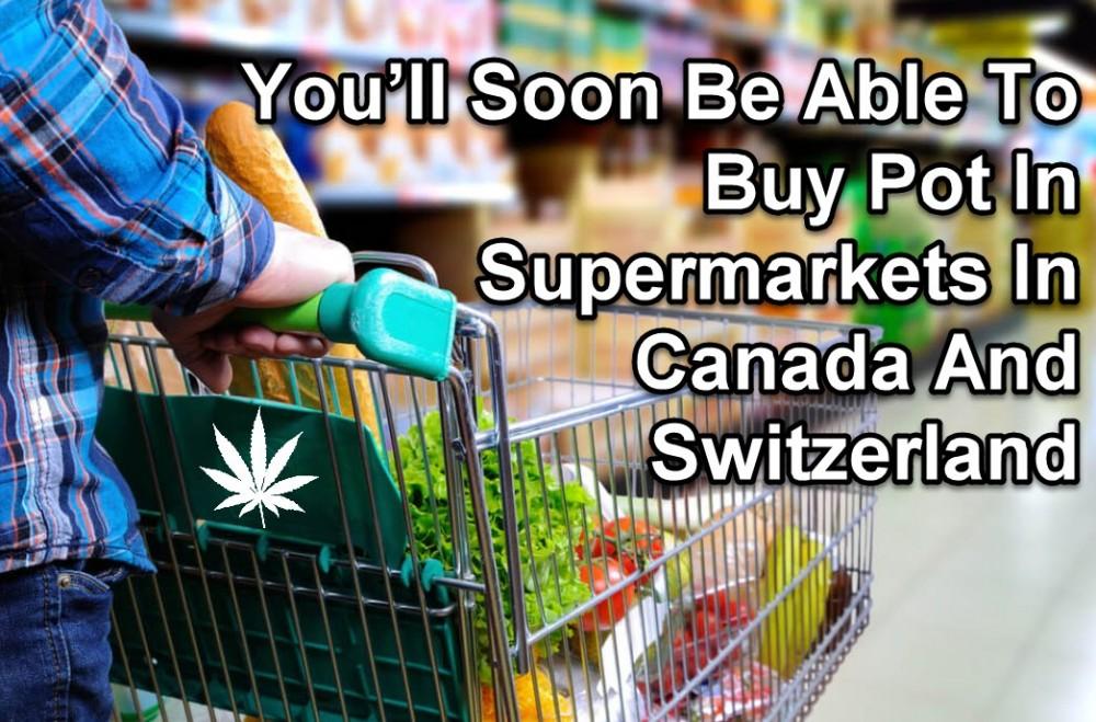 SUPERMARKET CANNABIS SALES