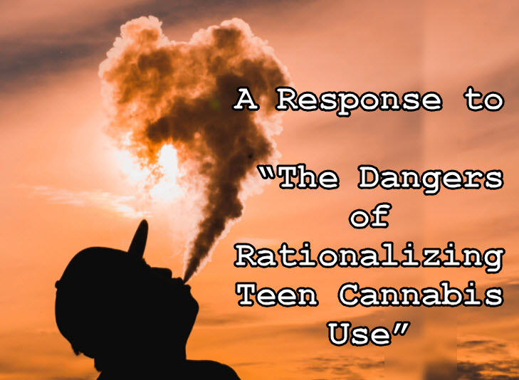TEEN CANANBIS USE RESPONSE