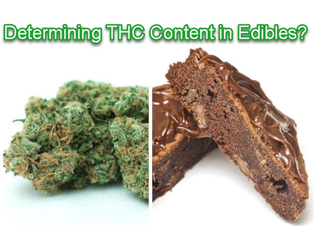 HOW TO DETERMINE THC IN EDIBLES