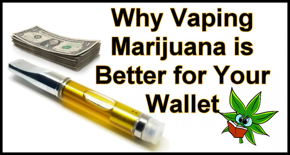 VAPING IS BETTER THAN SMOKING FOR YOUR WALLET