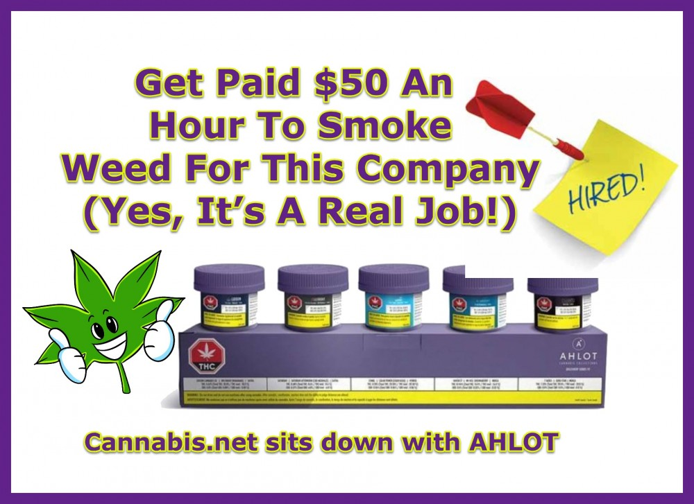 AHLOT job smoking weed