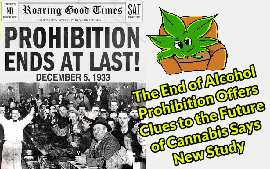 cannabis prohibition and alcohol prohibition
