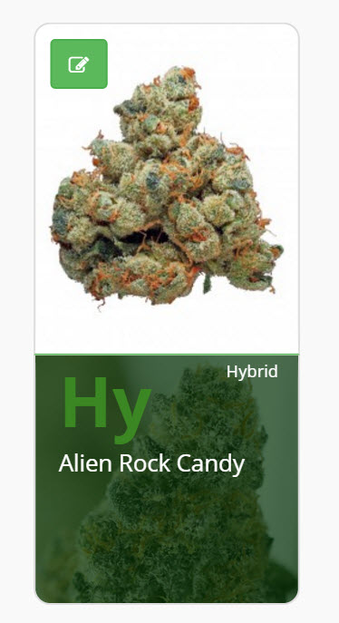 ALIEN ROCK CANDY