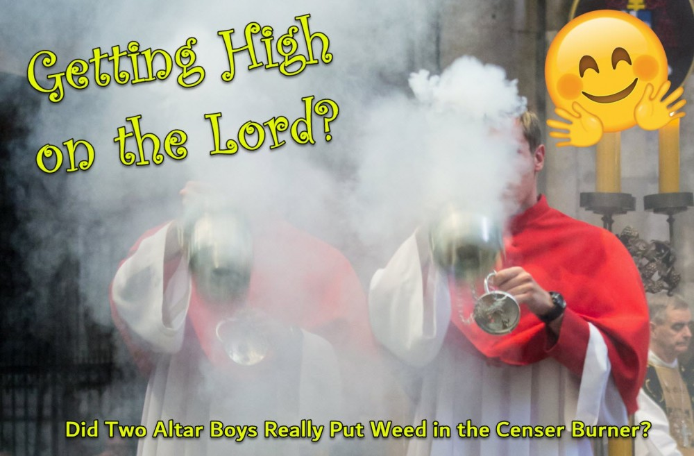 getting high on the lord