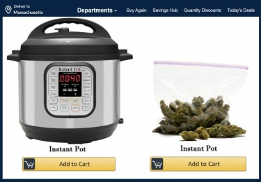 delivery licenses amazon selling weed