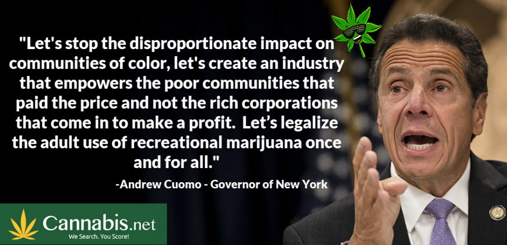 cannabis in new york andrew cuomo