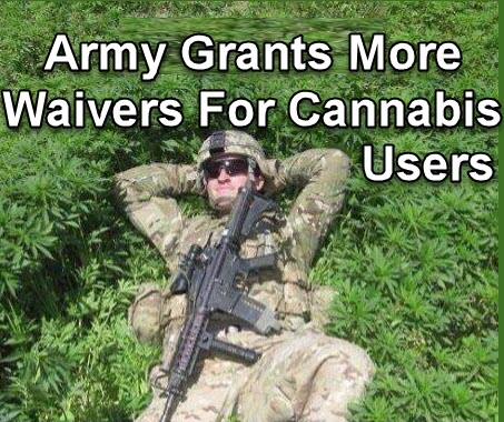 ARMY ON CANNABIS LAWS
